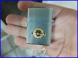 Vintage lot of 4 Zippo 1990's RR lighters! All mint sealed never opened or fired