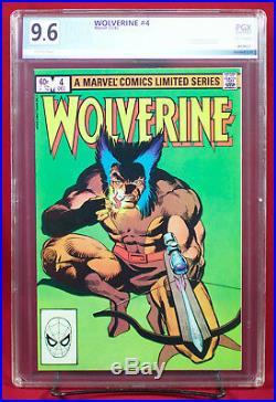 WOLVERINE limited series #1-4 ALL PGX 9.6 NM+ Near Mint Plus FRANK MILLER +CGC