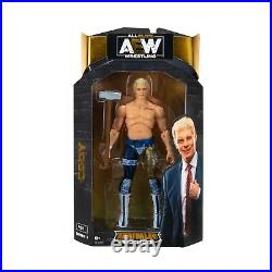 WWE Legends Elite Collection Series 8/All Elite Wrestling Unrivaled Series 1 Lot