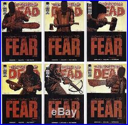 Walking Dead #97-102 All Nm 1st Prints 1st Appearance Neagan! Full Story Lot 100