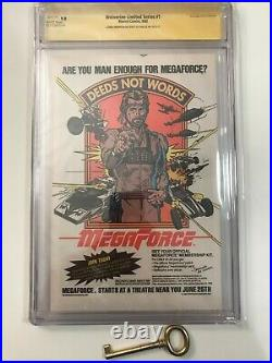 Wolverine Limited Series #1 2 3 4 Lot All CGC 9.8 Signed 4-9x's & Sketch! X-Men