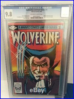 Wolverine Limited Series Lot Set (1-4) All CGC 1982 #1,2,3,4 Frank Miller