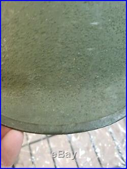 World War Two U. S. Army M-1 Helmet S marked Shell, mint shape, you get it all