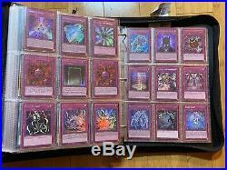 Yugioh Massive Binder Collection Lot (1100+ All Holo Cards) Plz Read Description