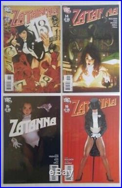 Zatanna (2010) 1 16 Run Set Lot Complete 15 Adam Hughes cover art ALL NM